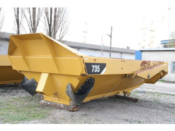 Savivartis kėbulas CATERPILLAR KIPPER TIPPER BODY DUMPER CATERPILLAR CAT 735 FLAP DOOR