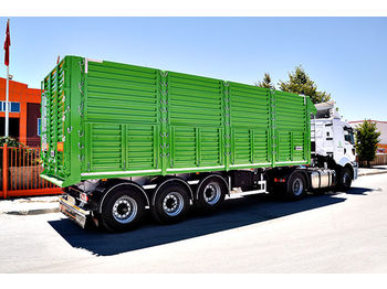OZGUL TIPPER TRAILER WITH SIDE DOORS - savivartis puspriekabė