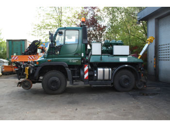 Mercedes-Benz U400,U300,U500,Unimog,Road and Rail,Zweiwege,  - sunkvežimis