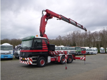 Vilkikas Mercedes Actros 2640 LS 6x4 + Effer 600/4S + winch